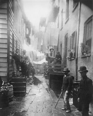 Bandits Roost by Jacob Riis